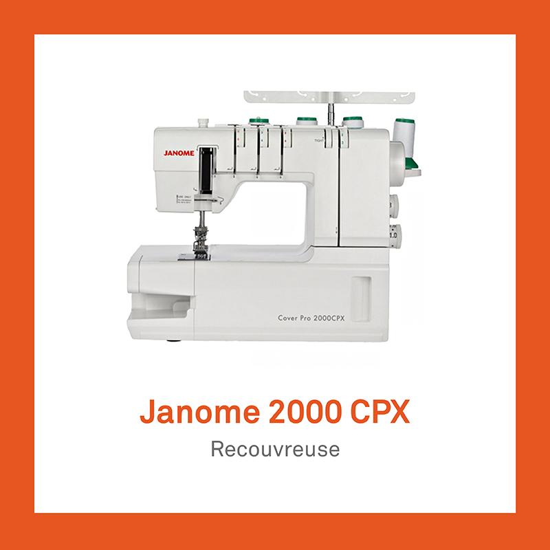machine à coudre Janome 2000 CPX