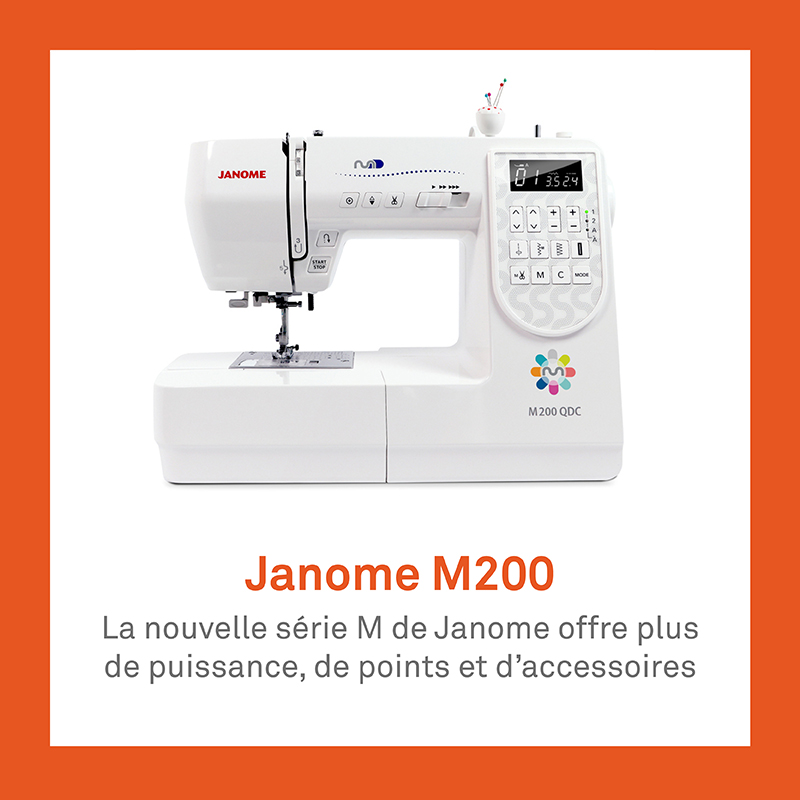 machine à coudre Janome M200