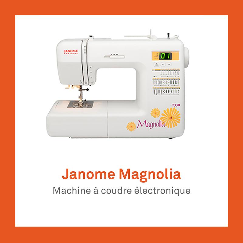 machine à coudre Janome Magnolia