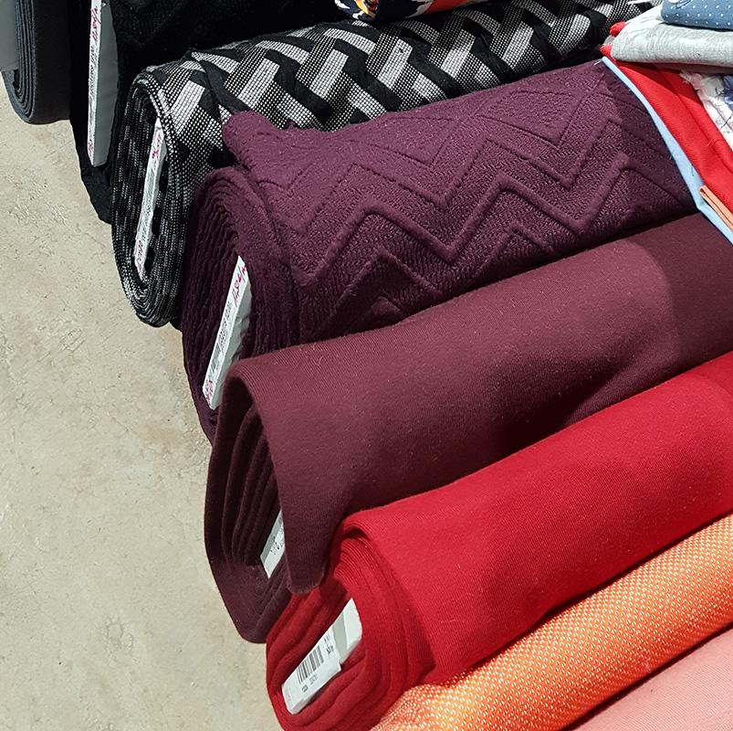 De magnifiques couleurs et tissus de qualité