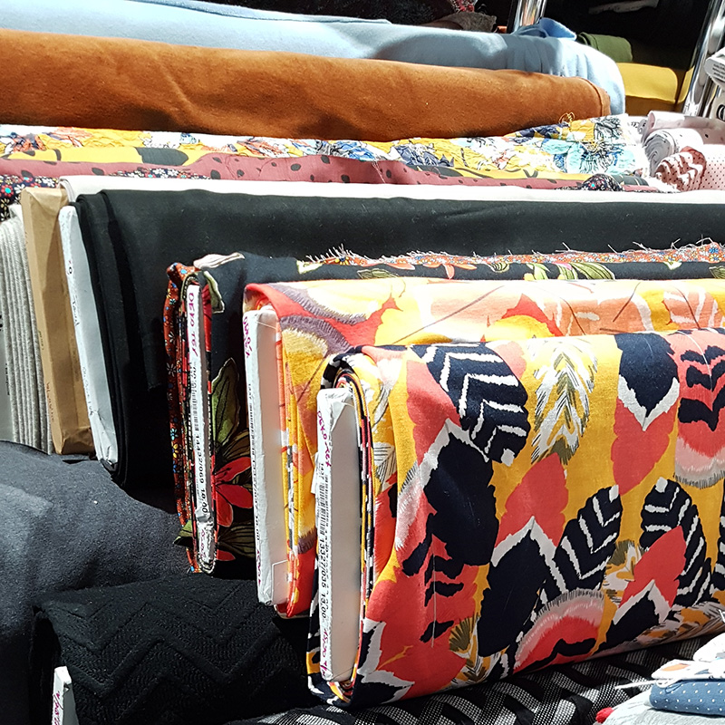 Tissus originaux et colorés